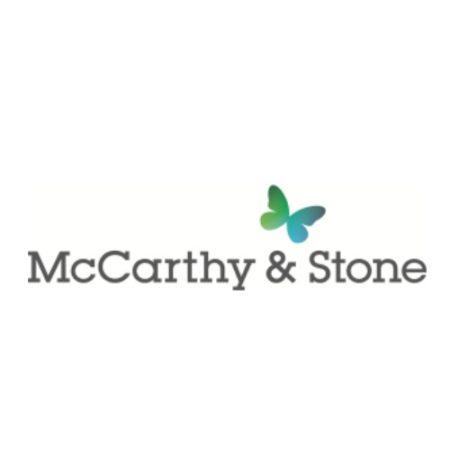 McCarthy & Stone logo black and green