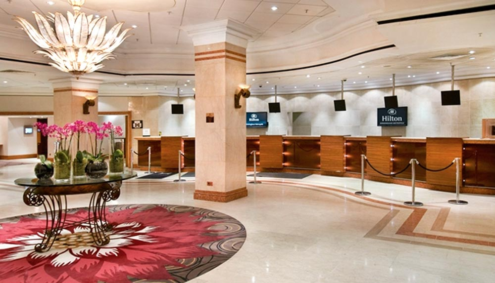 Hilton Metropole Birmingham lobby management training venue