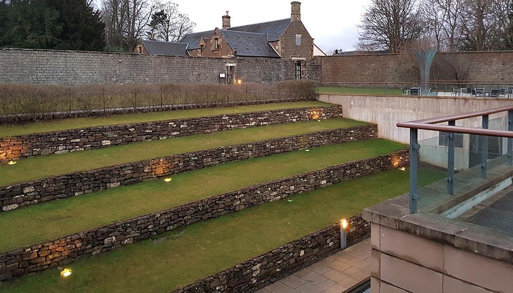 View from Impellus Management Training Venue Edinburgh