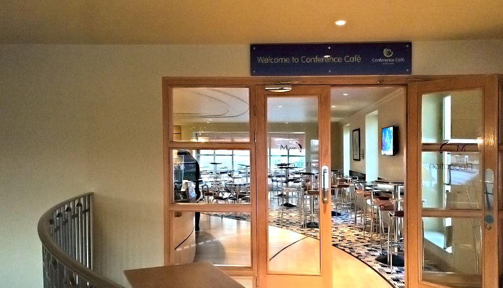 Conference Cafe management training in Leeds