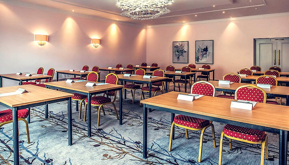 Management training meeting room at The Grange Hotel in Bristol