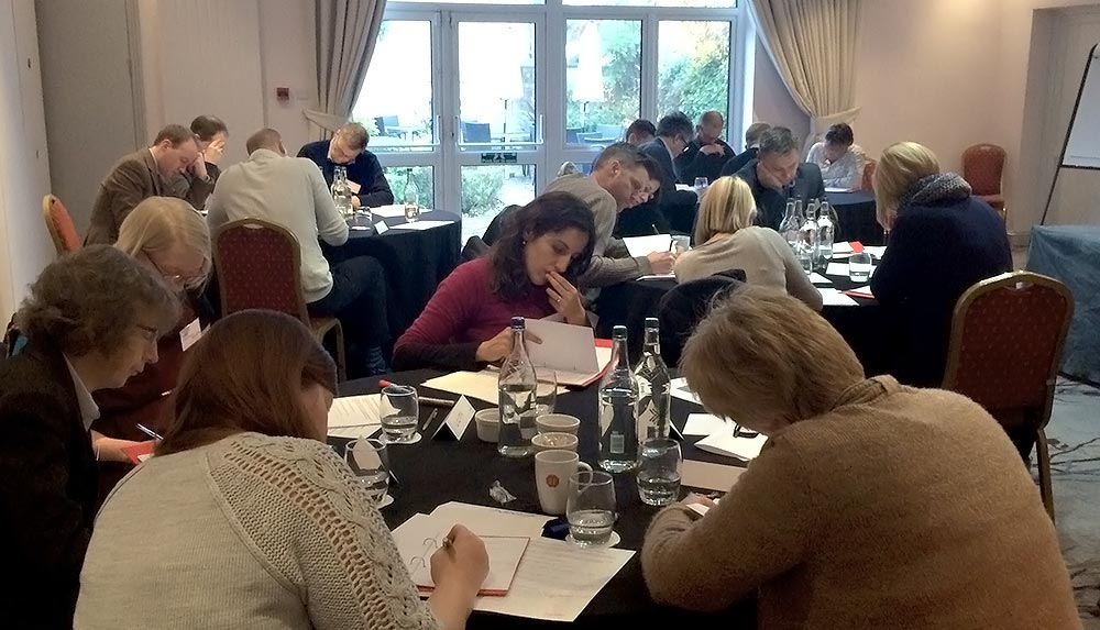Meeting room holding Management training delegates in Bristol