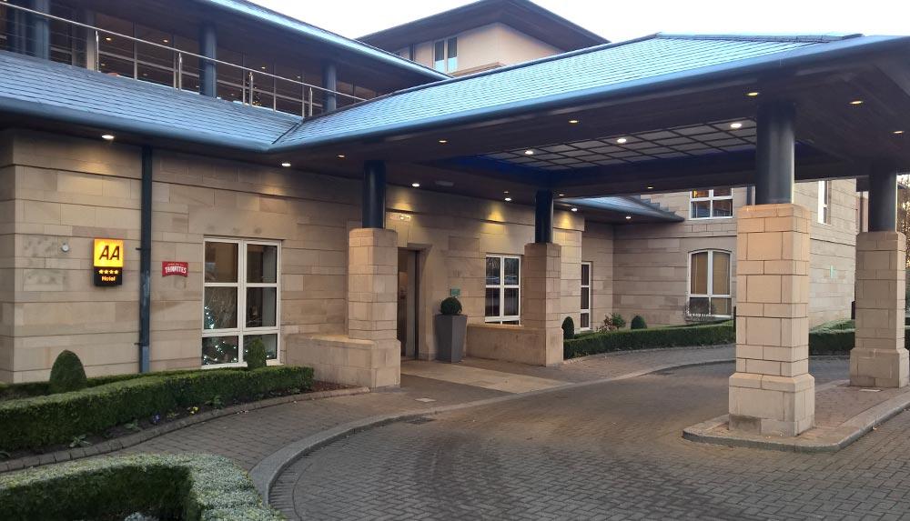 Thorpe Park Hotel Leeds management training venue