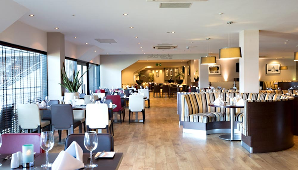Restaurant at Impellus management training facility in Milton Keynes