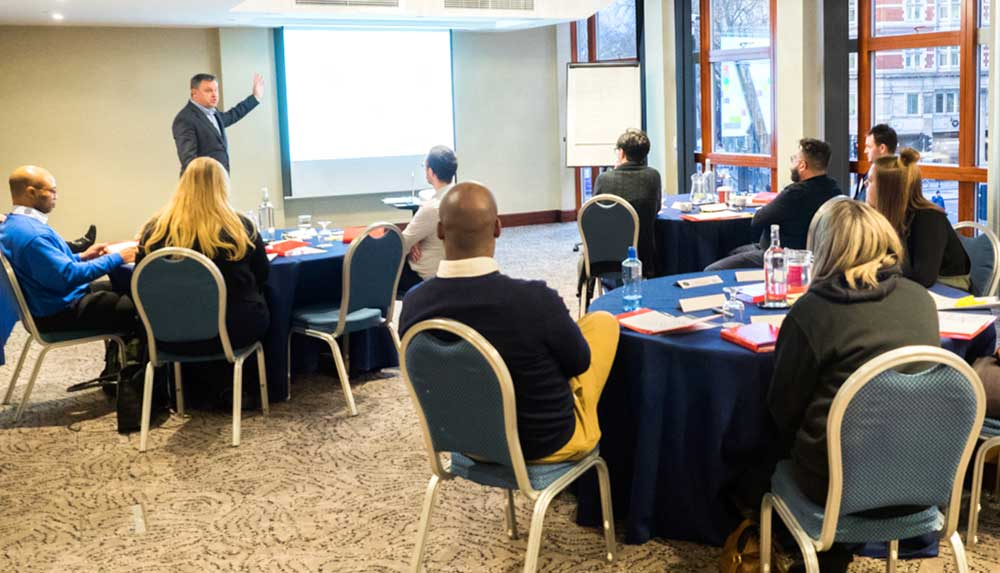 Impellus Management Training Delegates at Grange Hotel London